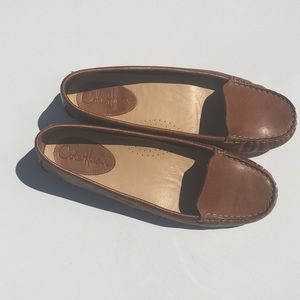 Cole Hann Nike Air Alesandra Driver leather loafer